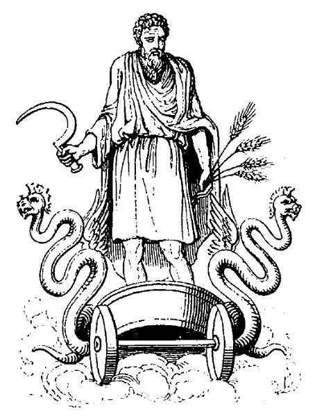 Cronus Greek God Black White Art Pinterest Mythology