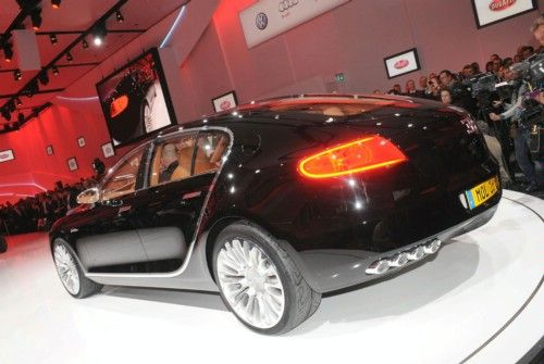 2013 Bugatti 16c Galibier Show