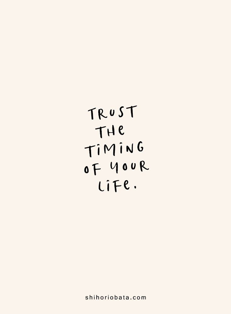New Funny Life 25 Short Inspirational Quotes for a Beautiful Life Trust the timing of your life - Short Inspirational Quotes #quotes #inspirationalquotes // short inspirational quotes, quotes about life, short quotes 9