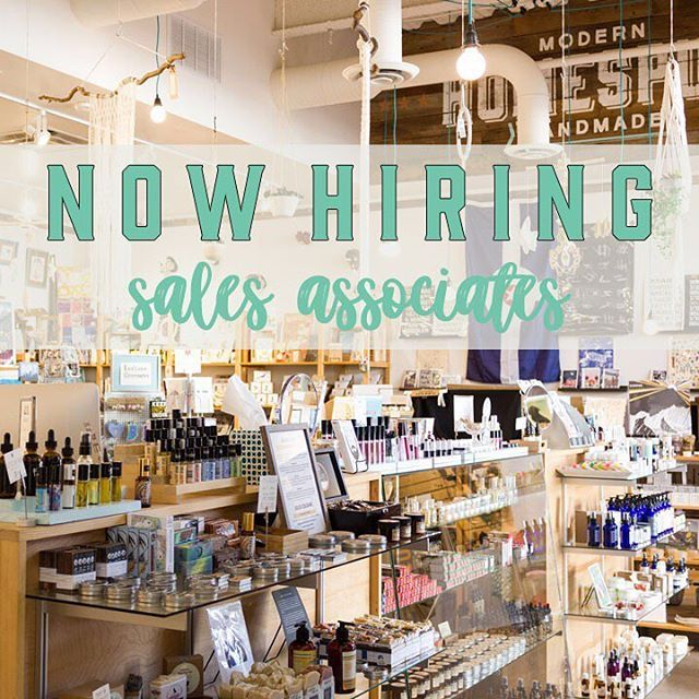 We have an opening for a Part Time Sales Associate! Must