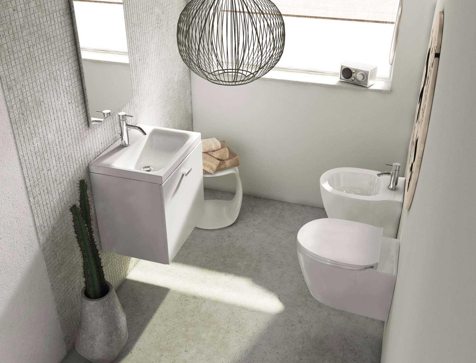 Mobili lavabo piccoli per risparmiare centimetri preziosi for Mobile bagno piccolo