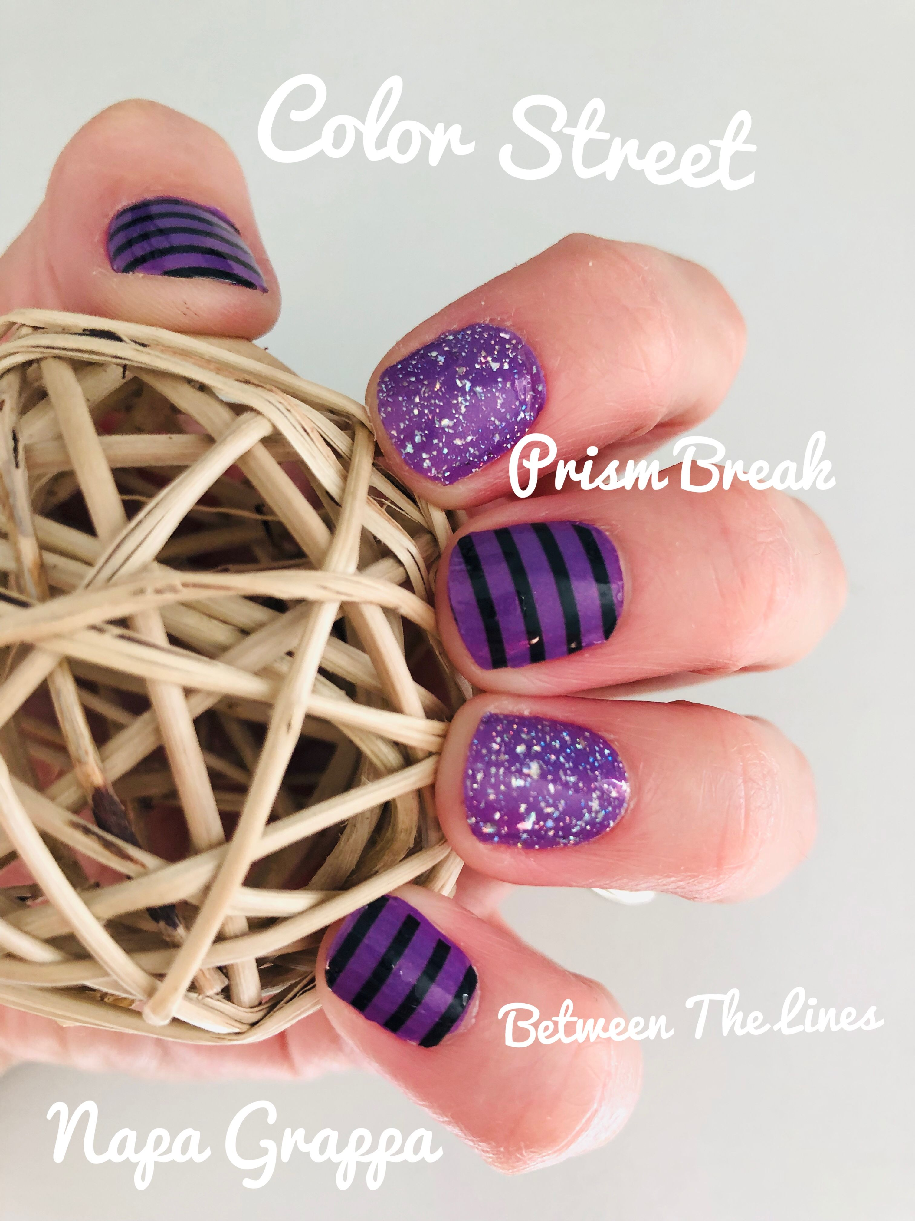 Halloween Color Street 2020 Combos Color Street Strips 2019 | Color street nails, Nail color