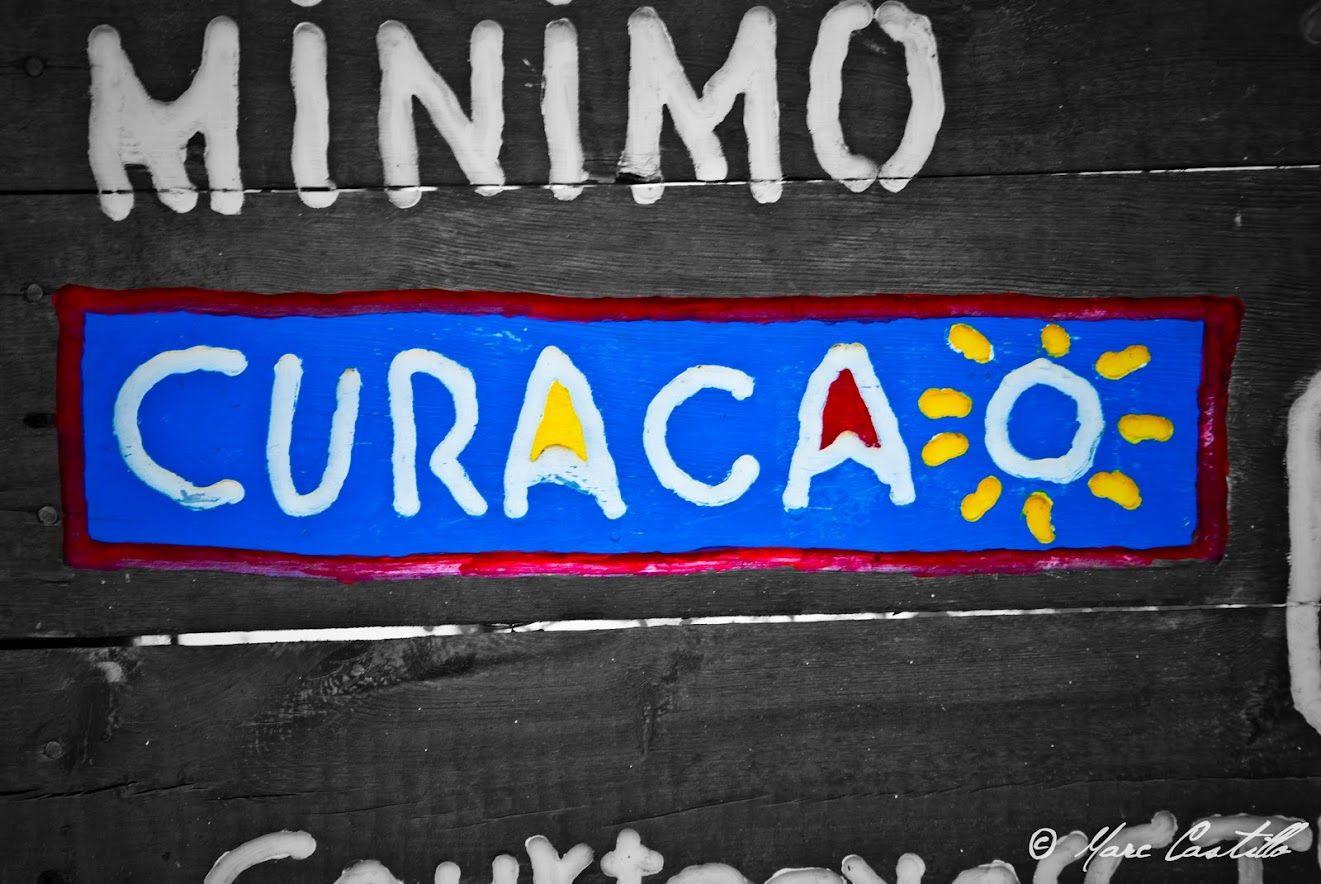 """Official """"Curaçao"""" Logo of the Curaçao Tourism Board"""