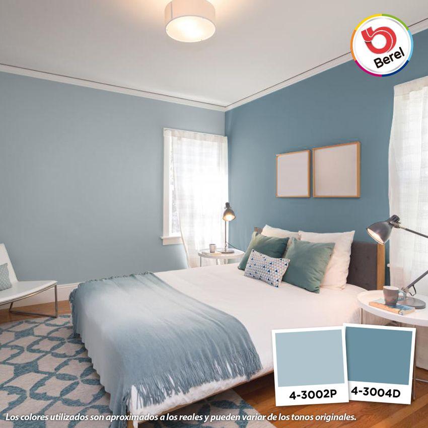 Logra espacios serenos y pr cticos con tonalidades azules for Colores para interiores pequenos