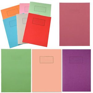 Exercise book colours