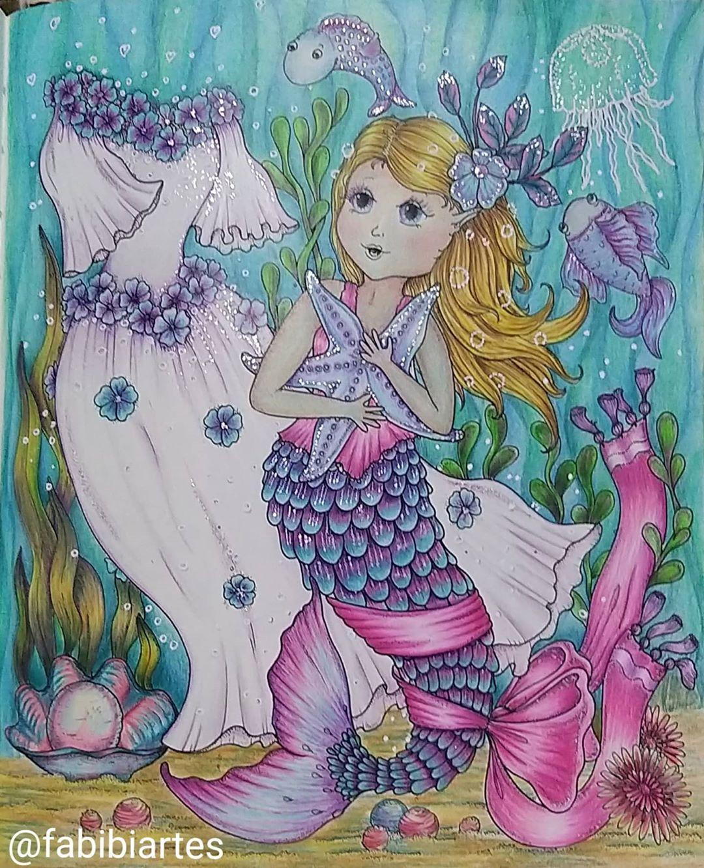 Fabibiartes S Instagram Photo Finalizado Abr 2020 Livro Fairy Celebration Lapis Polychromos Faber Castel Coloring Books Owl Wallpaper Coloring Pages
