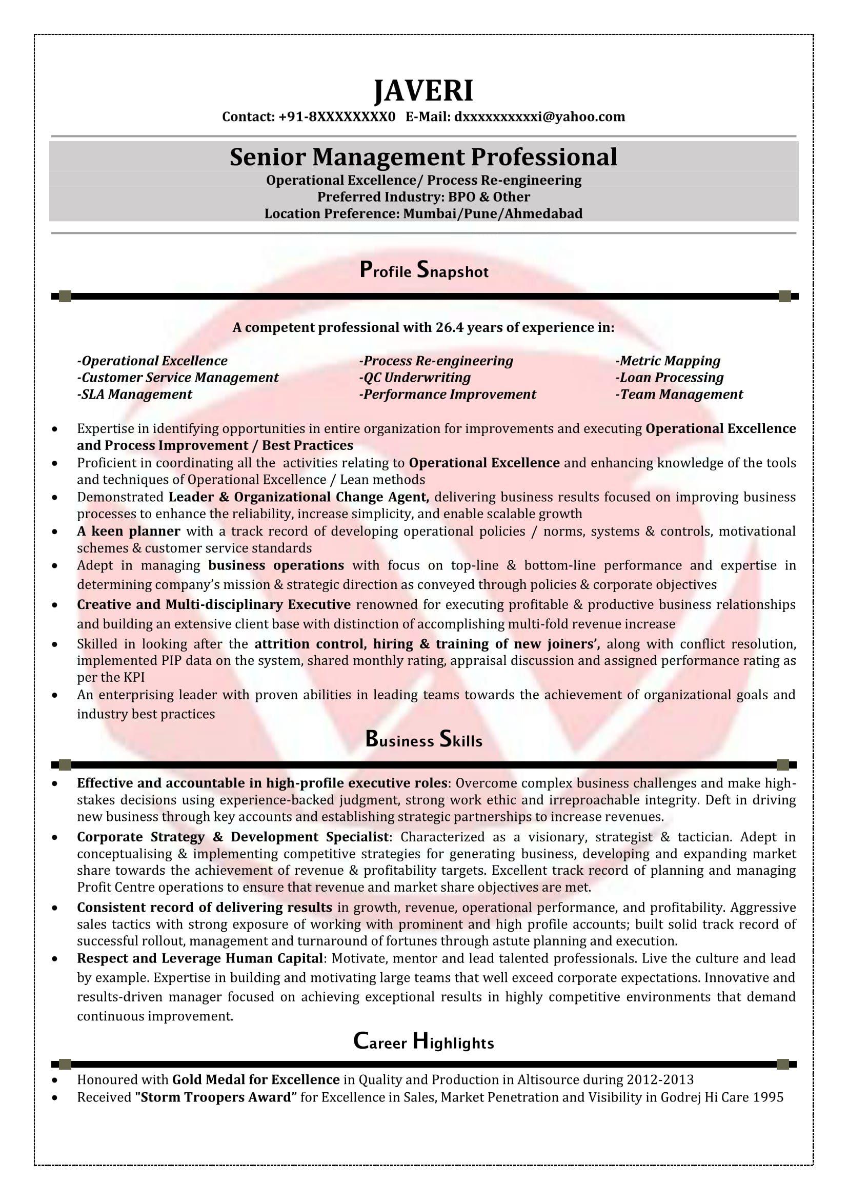 Resume Format Kpo Resume format, Resume, Resume templates
