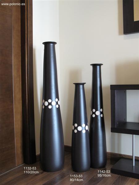 jarrones modernos - Buscar con Google Reciclaje Pinterest - decorar jarrones altos