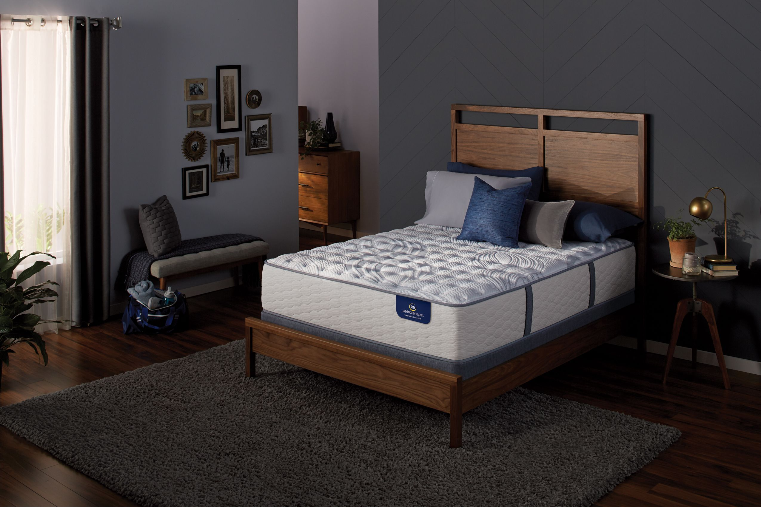 Serta Perfect Sleeper Haddonfield Luxury Firm Set Plush