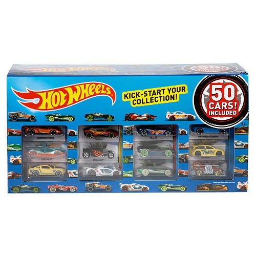 Hot Wheels 50 Car Pack Mattel Toys R Us Daniel Boone Hot