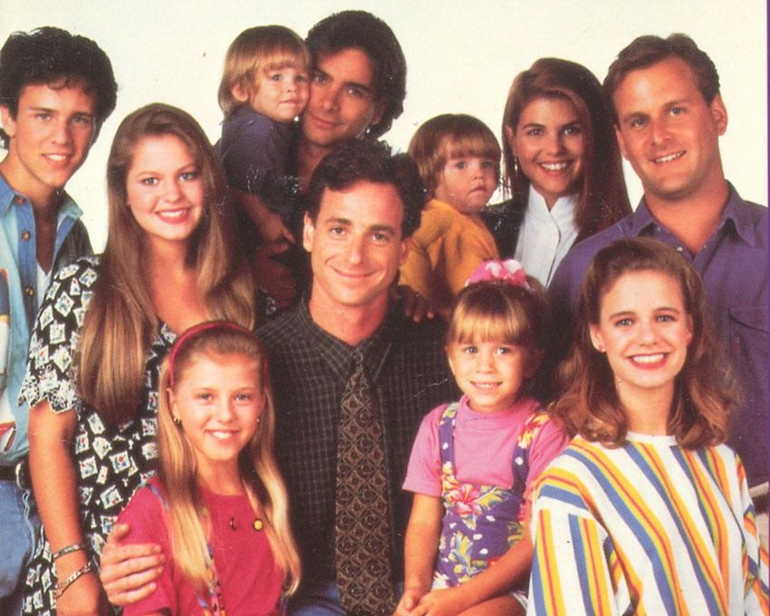 Cast Season 6 Full House Full House Cast 1980s Tv Shows