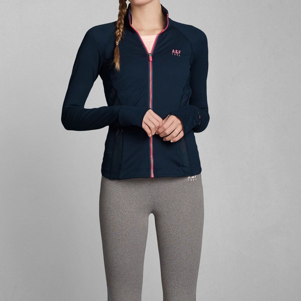 Abercrombie Accessories Abercrombie Accessories Abercrombie Womens Abercrombie Couple Abercrombie Womens: Women's A&F Active Full-Zip Jacket