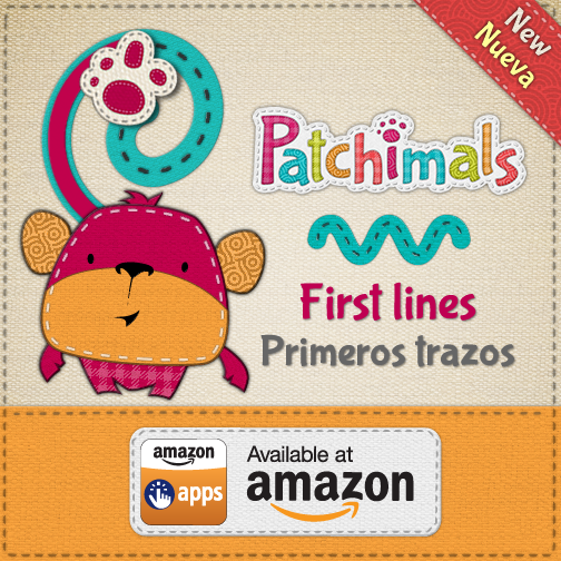 Patchimals - Fisrst lines is now also available at Amazon Appstore for Android!  Compatible with Kindle Fire! // Patchimals - Formas y colores está disponible también en el Appstore de Amazon para Android.  Compatible con Kindle Fire!   Buy here // Cómpralo aquí http://bit.ly/PatFLam.   #kidsapps #appsforkids #amazon #amazonkindlefire #application #android #eduapps #edtech #summerlearning #mlearning #appsparaniños #appsniños #tracing #trace #prewriting #apps #kids #appskids #appkids