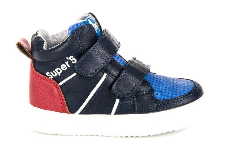 Buty Sportowe Dzieciece Dla Dzieci Americanclub Niebieskie Obuwie Sportowe Nad Kostke American Club Wedge Sneaker Sneakers Shoes