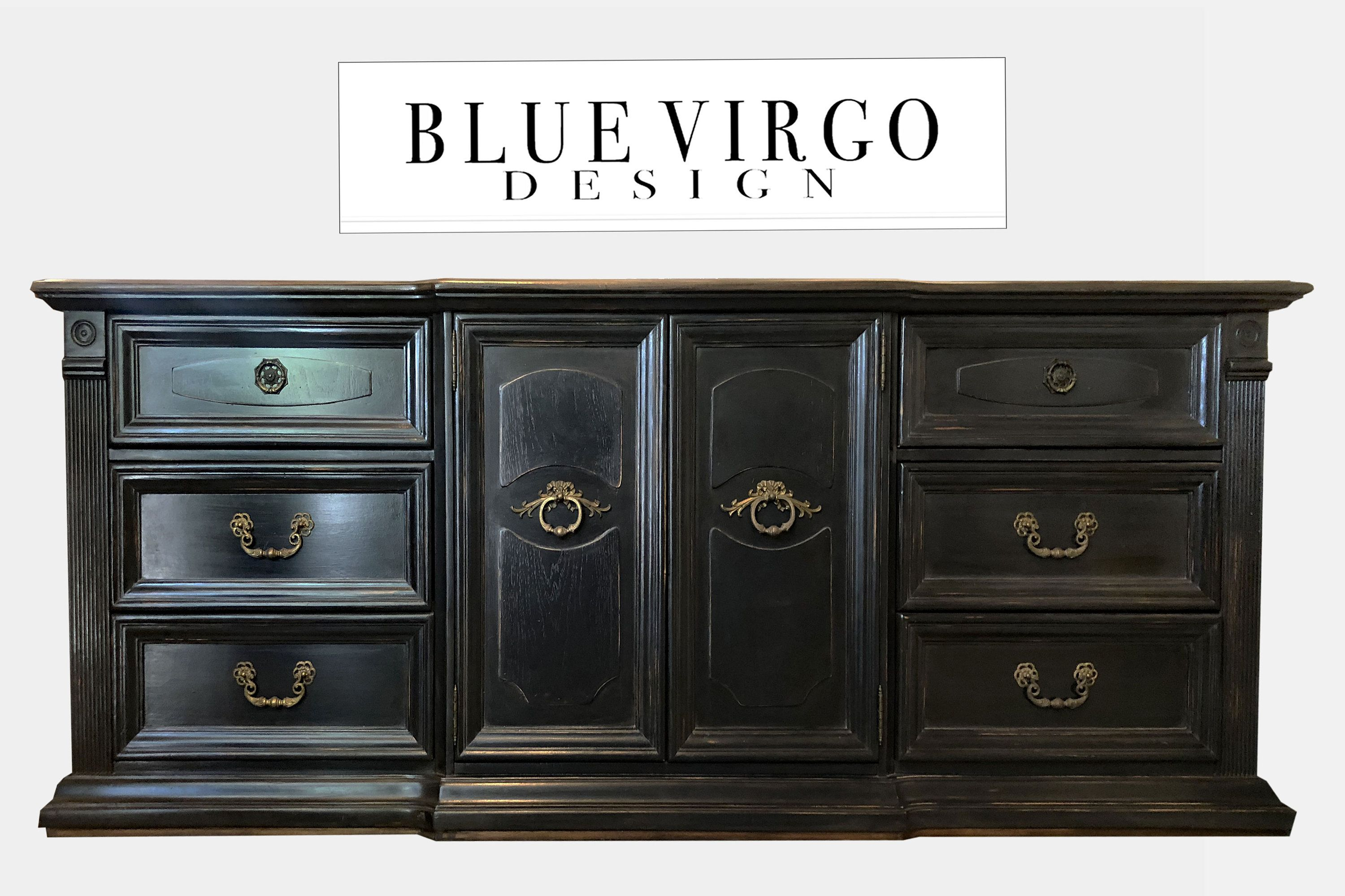 French Country 9 Drawer Black Distressed Dresser Buffet Etsy Black Distressed Dresser Distressed Dresser Buffet Cabinet [ 2000 x 3000 Pixel ]