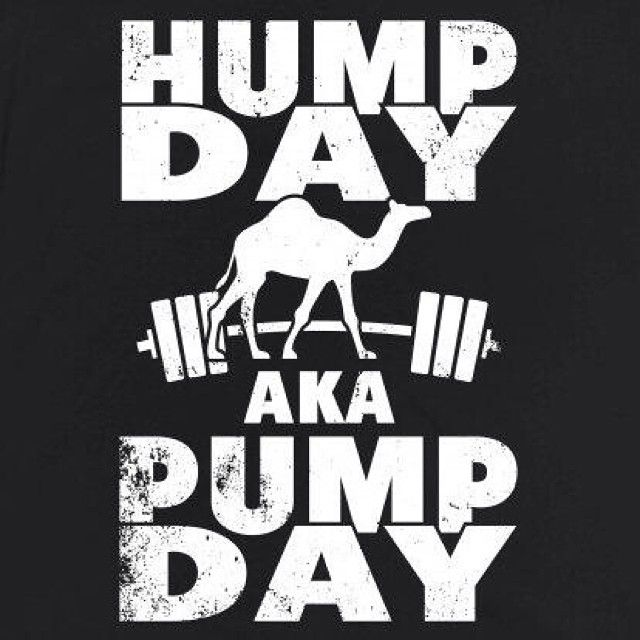 Pump Day quotes quote lifting days of the week exercise ...