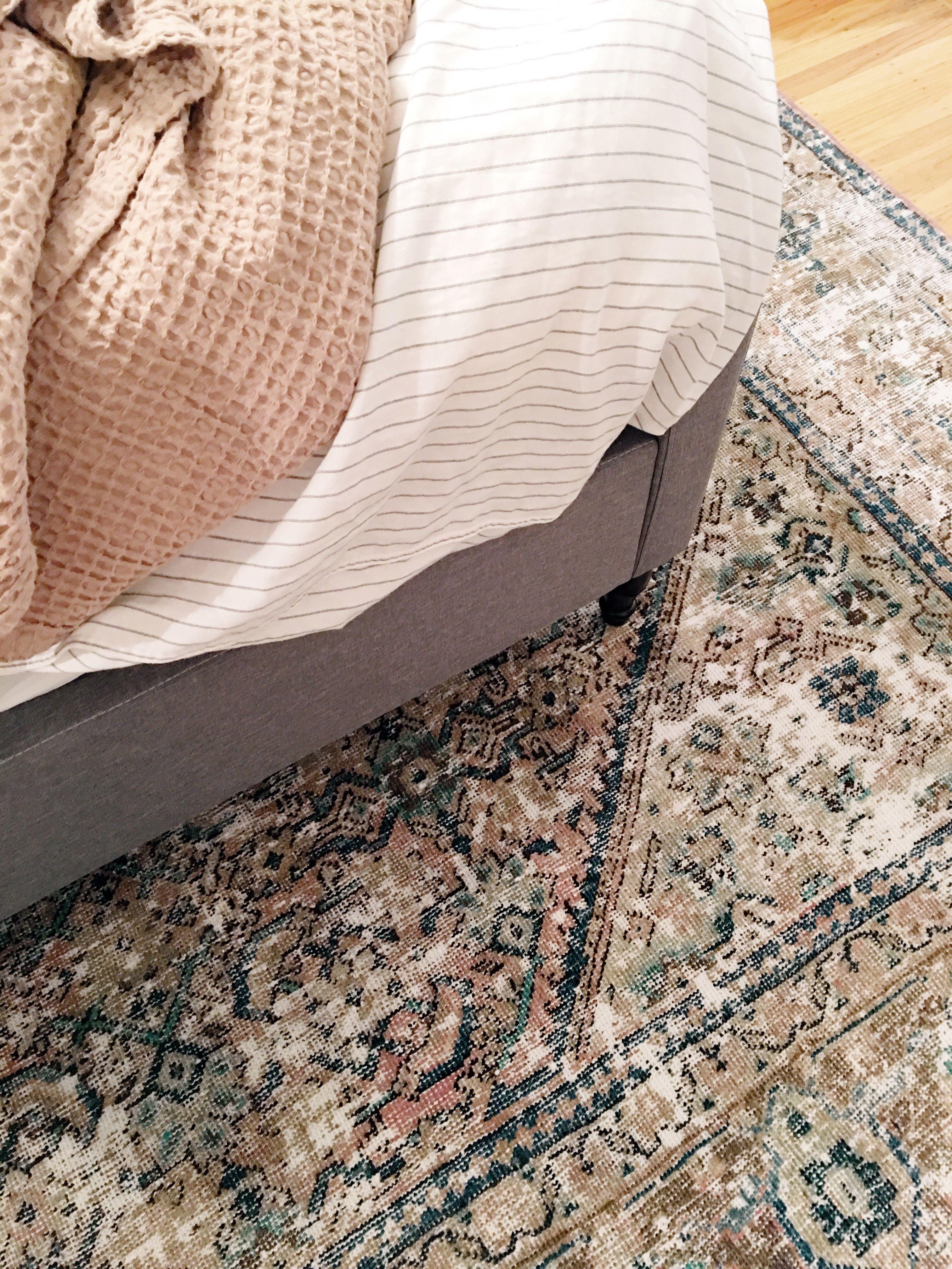 e Room Challenge – Week 6 The Vintage Rug Shop The Vintage Rug