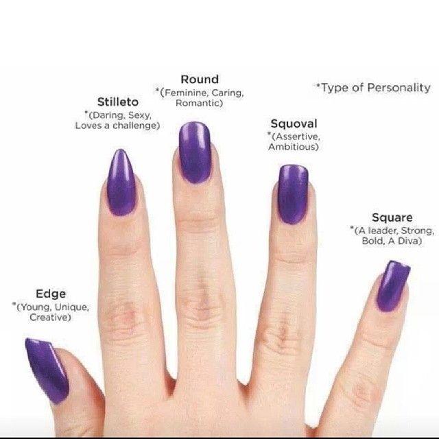 Variety Of Nail Art By Yours Truly: Nail Types Nails Nail Pretty Nails Nail Art Purple Nails