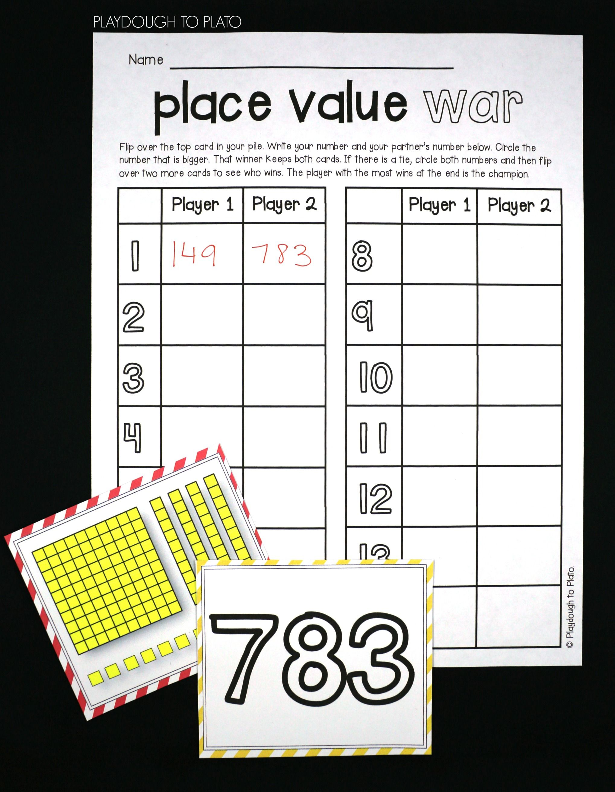 Hundreds Blocks Worksheets   Printable Worksheets and Activities for  Teachers [ 2625 x 2038 Pixel ]