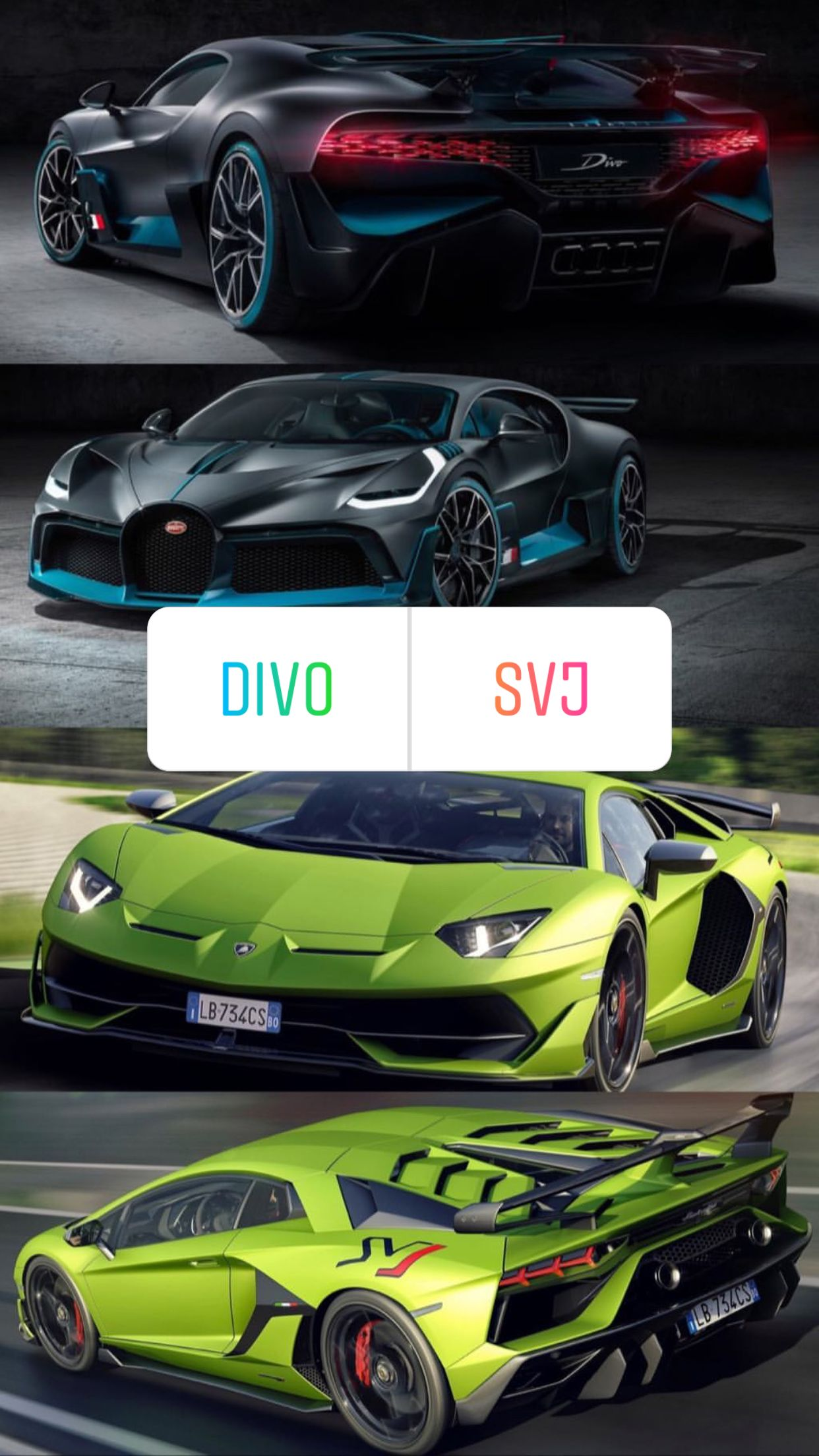 Divo Or Svj Bugatti Sport Cars Sports Cars
