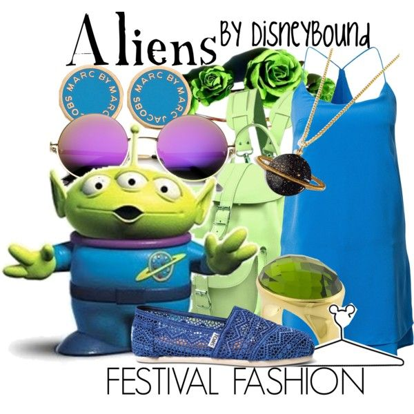 """""""Aliens"""" by leslieakay on Polyvore"""