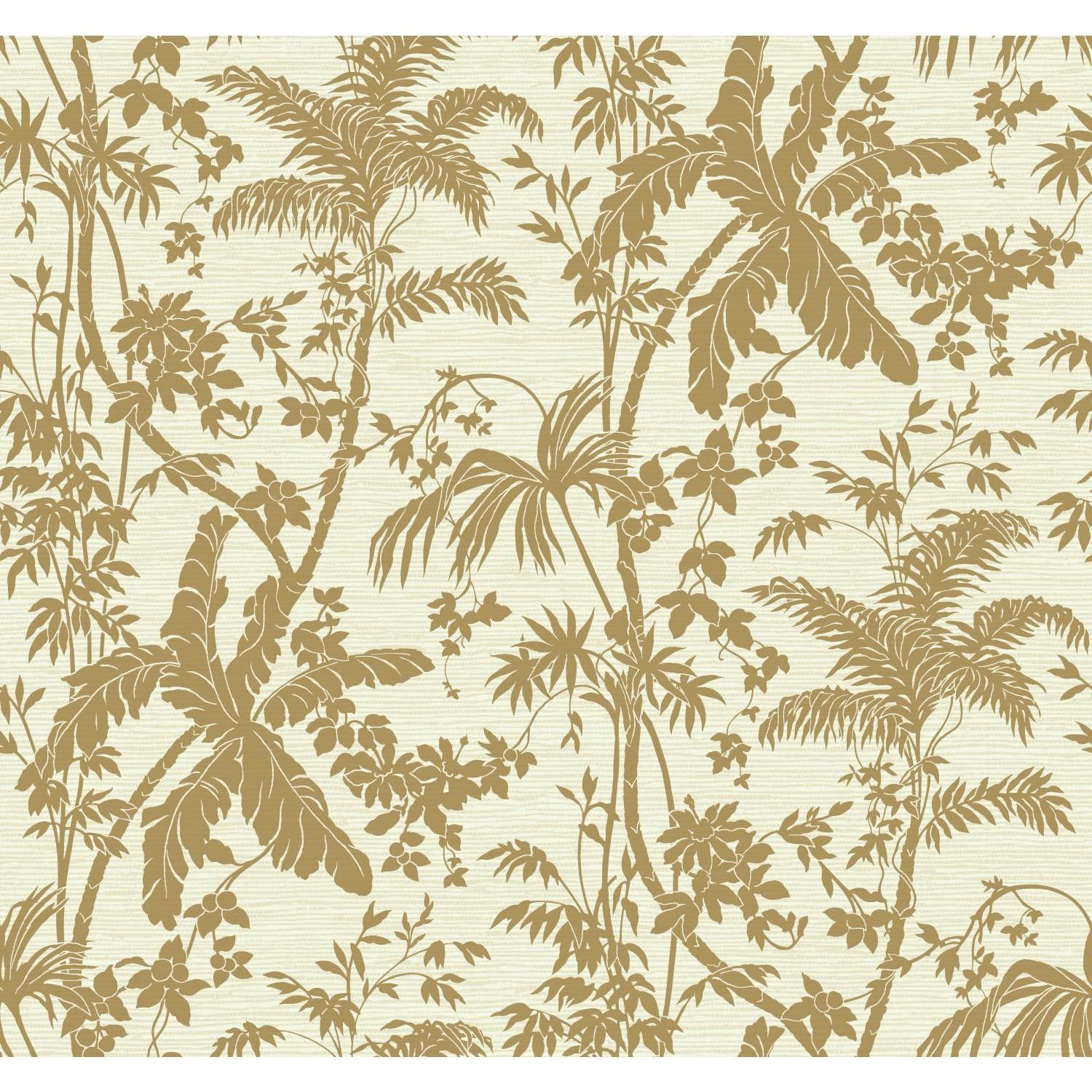 Ashford Tropics Palm Shadow 27 X 27 Quot Floral And Botanical