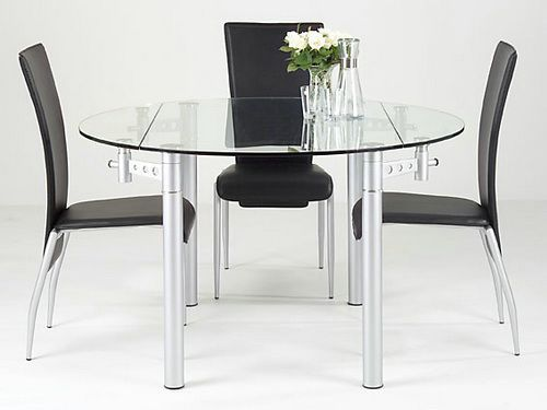 Round Extending Glass Dining Table Round Tables Set Glass Dining Table Small Dining Room Table Contemporary Dining Table