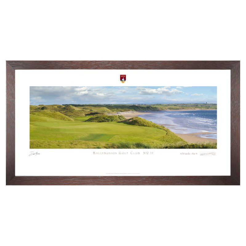 Stonehouse Framed Prestige Edition Wall Art -- Famous Golf Courses - BALYB11P