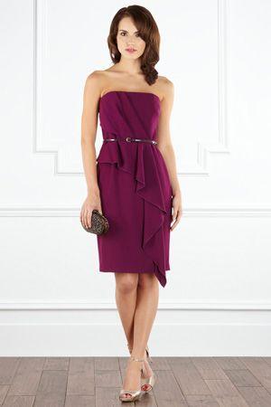 CAGGIE BANDEAU DRESS