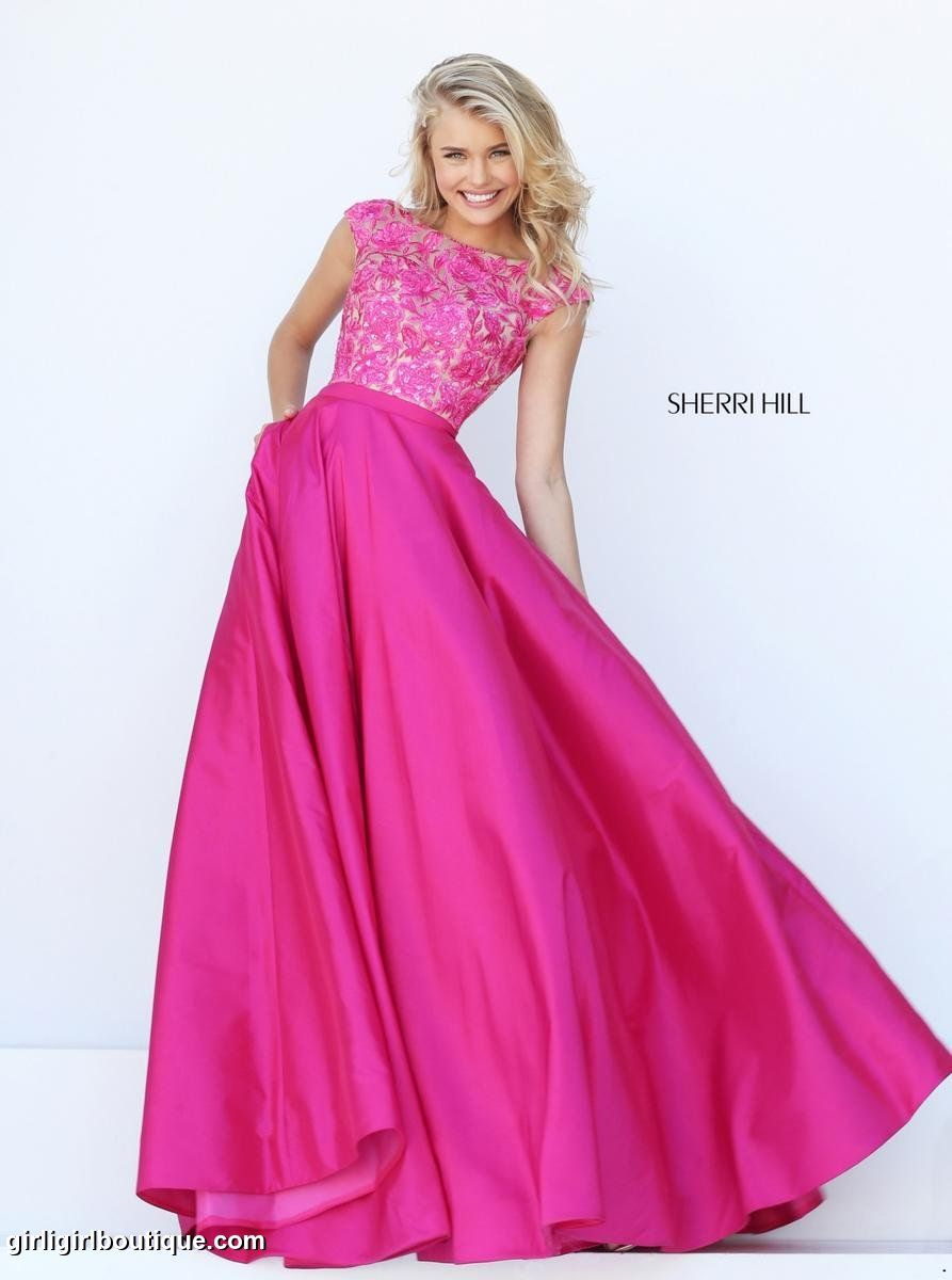 Pin de Girli Girl Prom and Pageant en 2017 Sherri Hill Prom ...