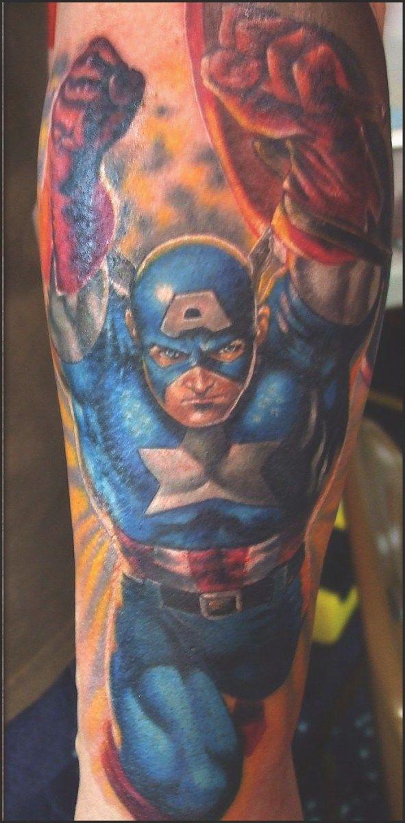 superhero tattoos pt 1 tattoo ideas pinterest superhero
