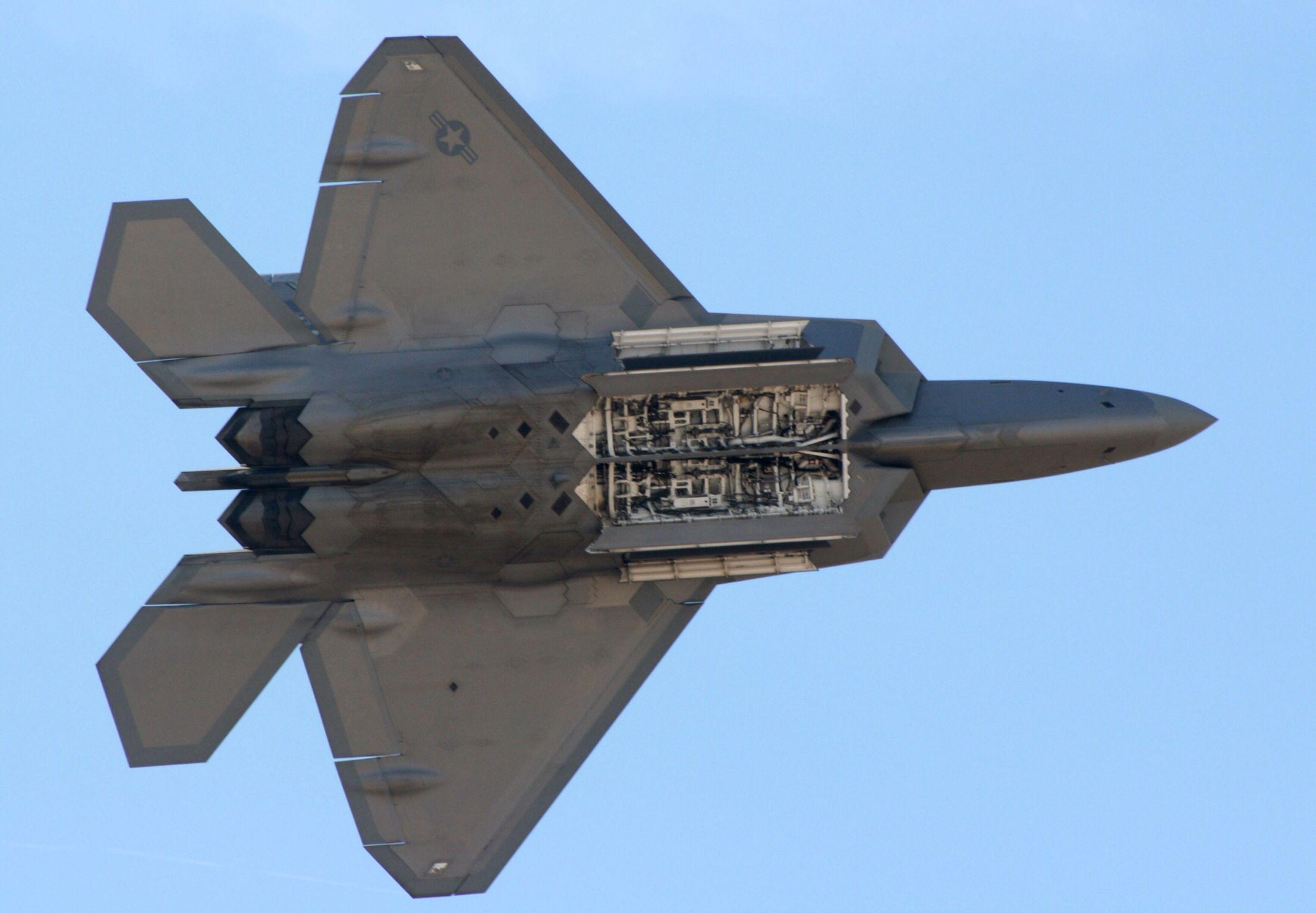 F 22 Raptor Fighter Jets Lockheed Raptor