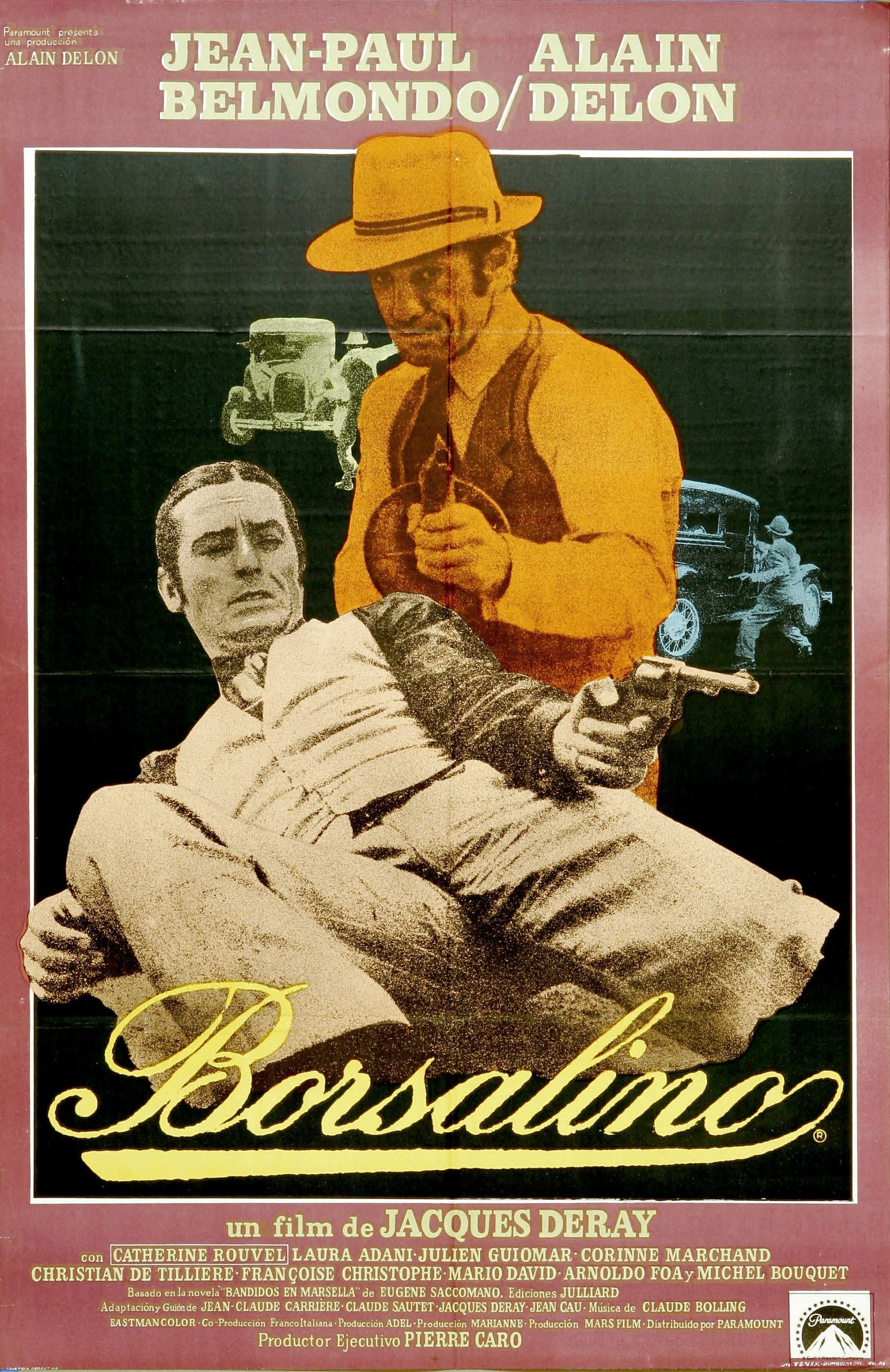 "Cartel Hispano de ""Borsalino"" (1970)"