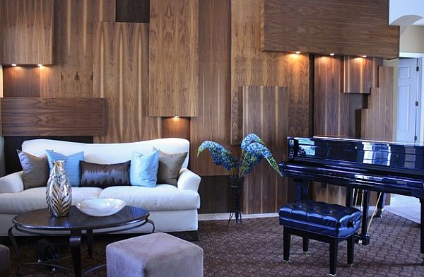 Unique Decorating Walls Ideas For A Lasting Impression Fancy Living Rooms Wood Paneling Living Room Living Room Designs