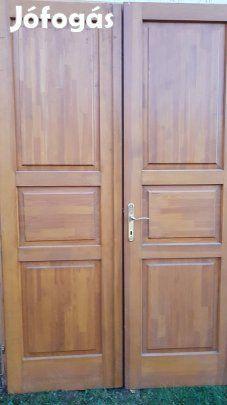 Unique four-door wooden door – Palotás, Nógrád