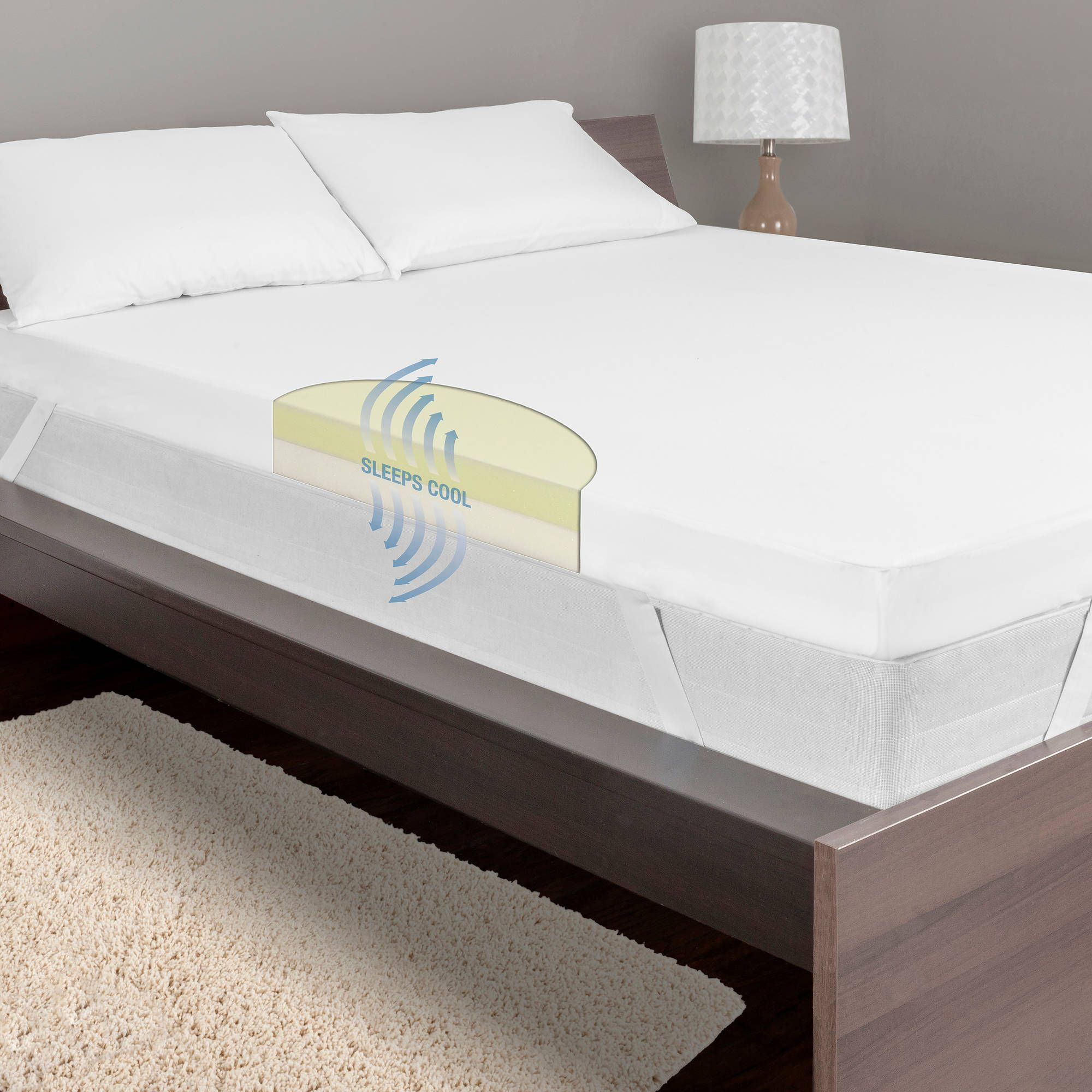 "Dream Serenity 4"" True Support Mattress Topper Sale"
