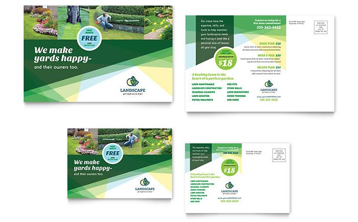 Health Fair PowerPoint Presentation Template Design Presentation - ms word pamphlet template