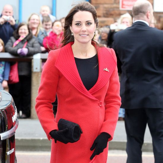 Kate Middleton Pregnant Style Pictures