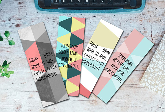 Editable Bookmarks Template Word Bookmarks Template Editable