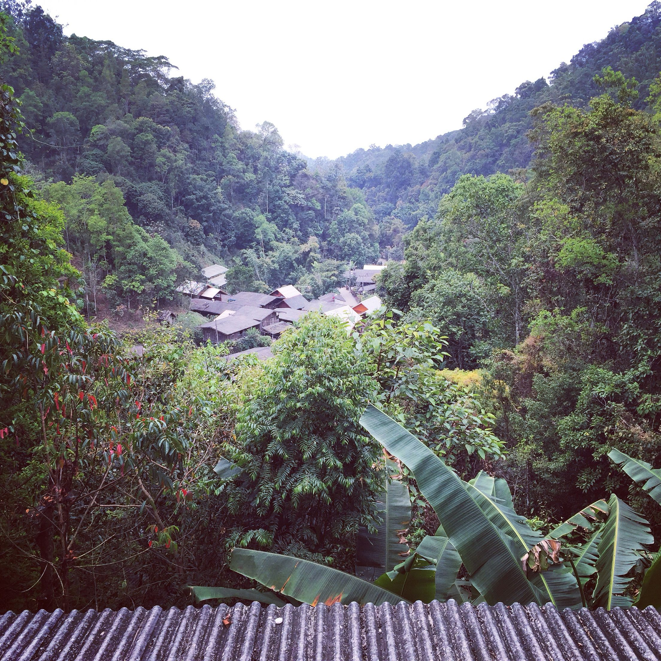View Mae Kampong Village From Chom Nok Chom Ma Coffee Maeon Chiangmai Thailand 27 02 2016 16 Degree Celsius Outdoor Chiang Mai Favorite Places