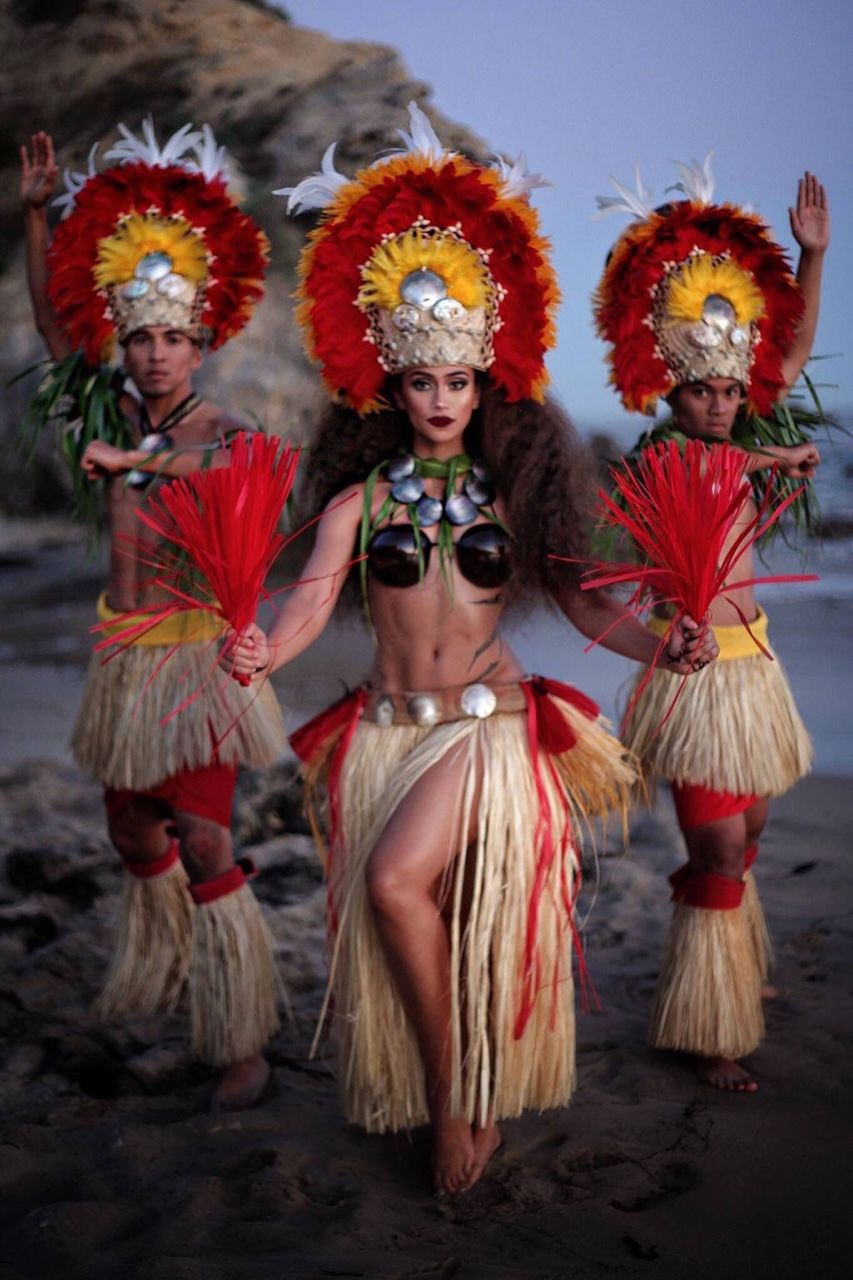 「tahitian dance Costume handmade」の画像検索結果