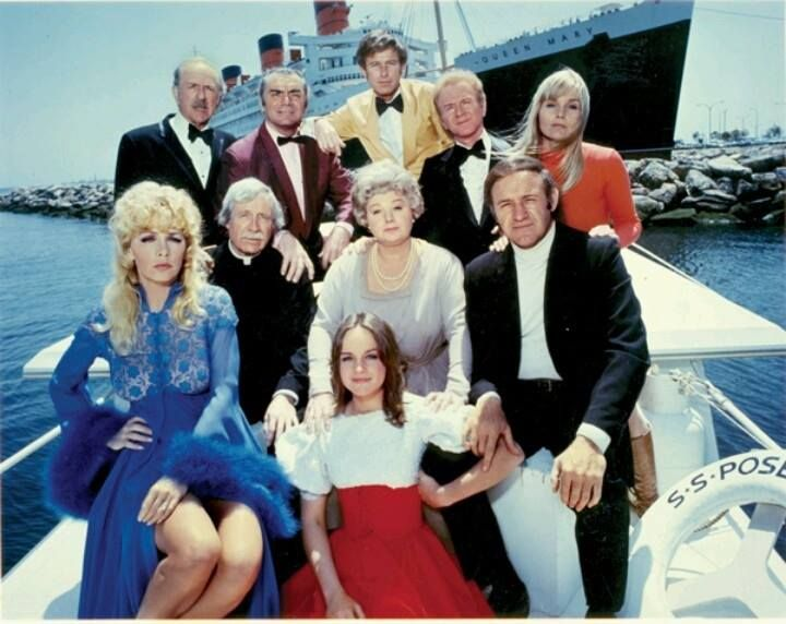 The Cast Of The Poseidon Adventure 1972 An American