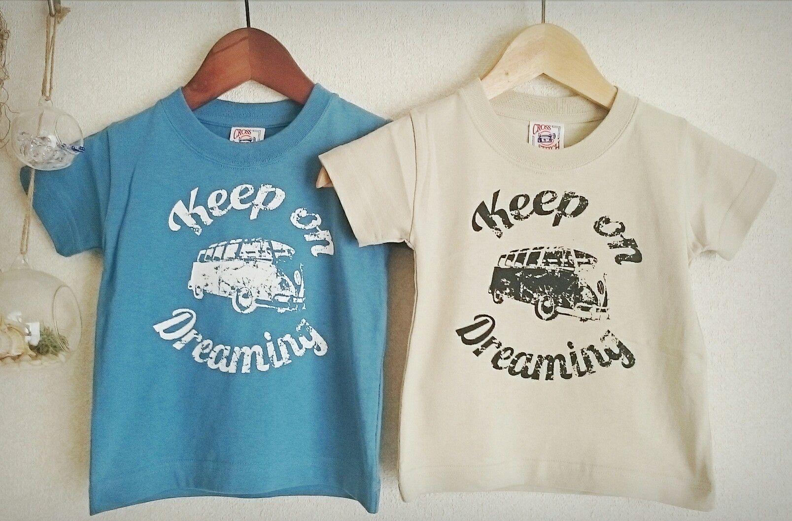 ハンドメイド キッズ用Tシャツ