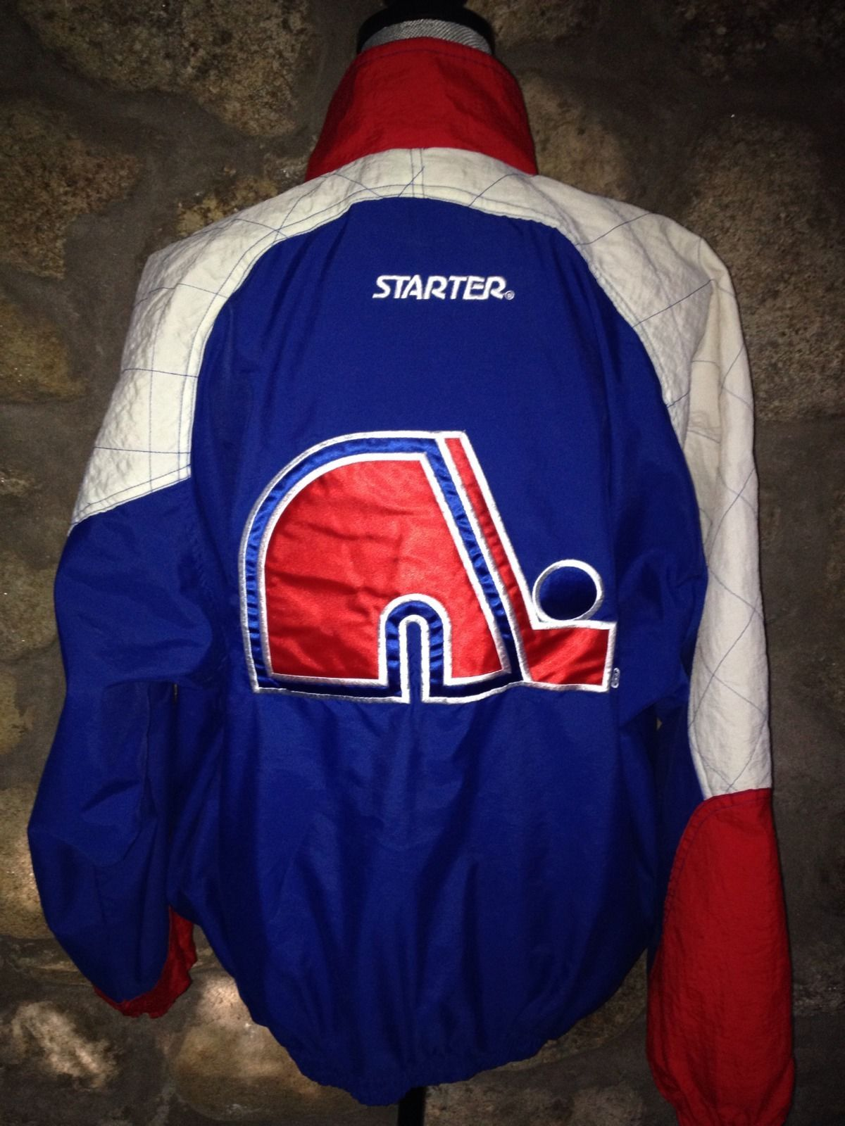 875e9172886 Quebec Nordiques Windbreaker by Starter (not a nice style IMO