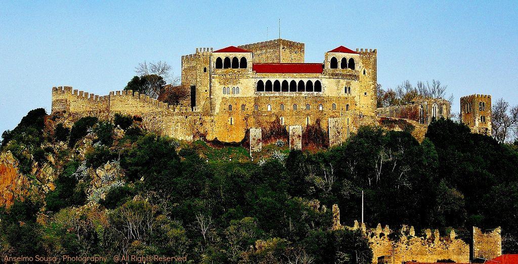 Portugal - Leiria e o seu Castelo -