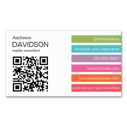 Bright bars 2 qr code social media business card photo business bright bars 2 qr code social media business card accmission Gallery
