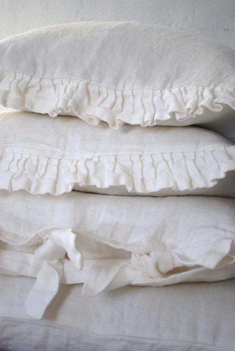 pillow ruffles