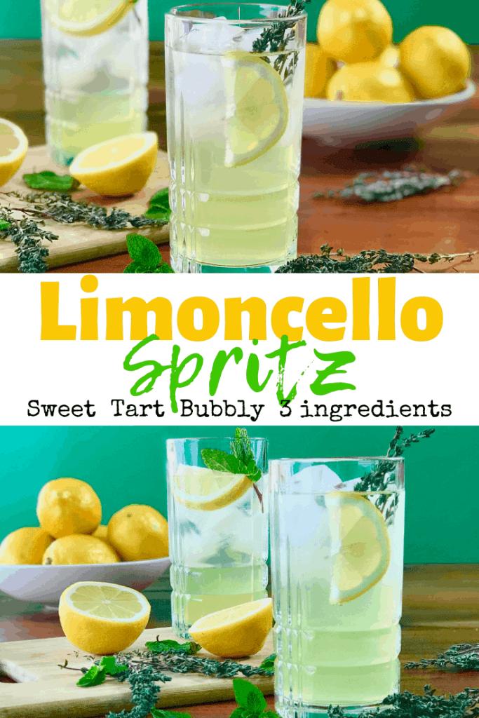 Limoncello Spritz [Italian Prosecco cocktail] - Paleo Gluten-Free Guy