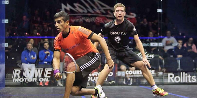 BritOpen Update: Ghosal shocks eighth seed Castagnet - Professional Squash Association