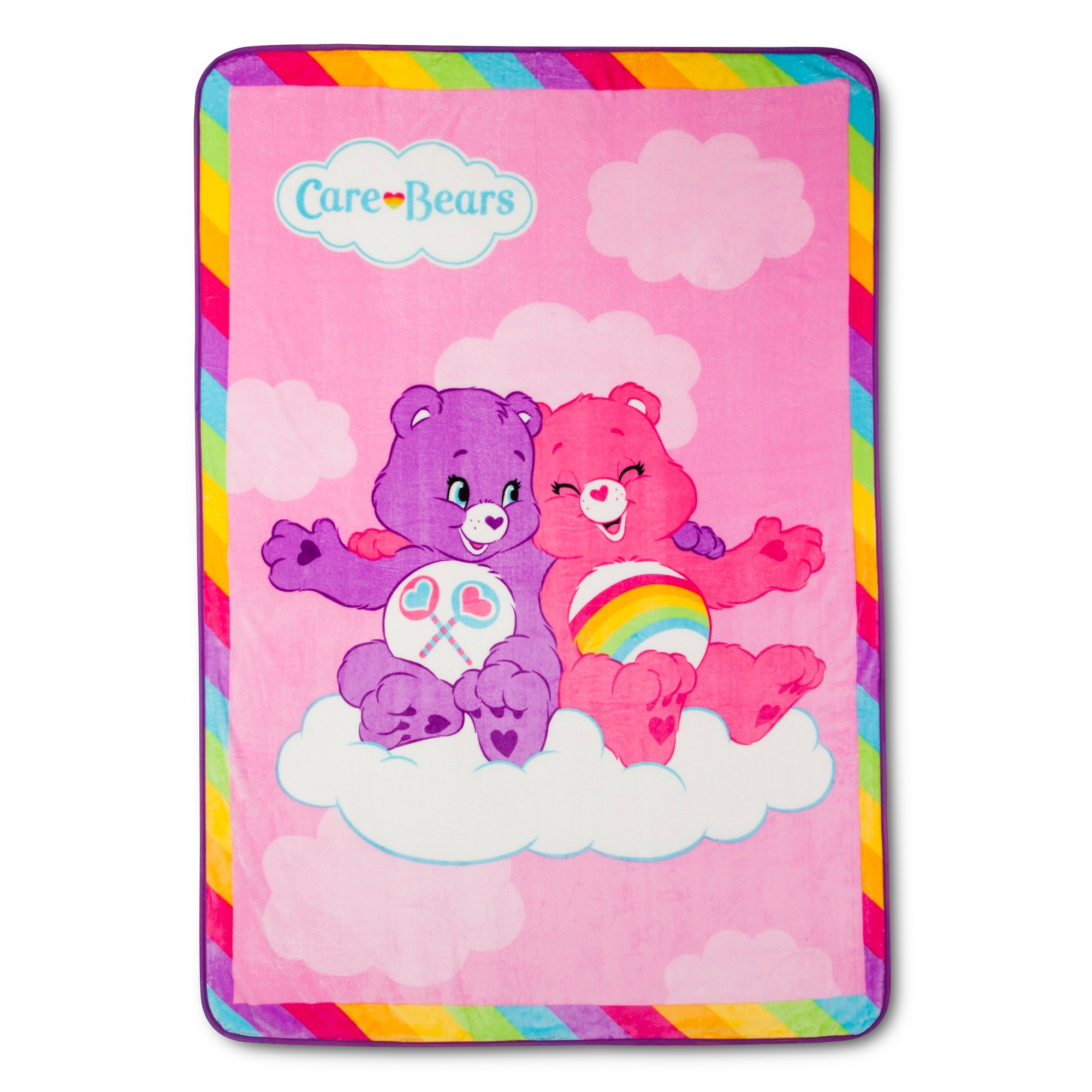 Care Bears Bed Blanket 62x90